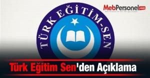 Türk Eğitim Senden...