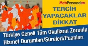 Türkiye Geneli Tüm Okulların Zorunlu...