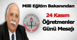 24 Kasım için Nabi Avcı'dan öğretmenlere mesaj!