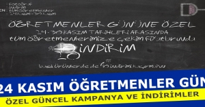 24 Kasım Öğretmenler Gününe Özel Güncel Kampanya ve İndirimler - Güncel