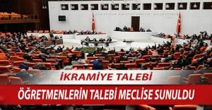 Eğitim Bir Sen'in Öğretmenlerle İlgili  İkramiye Teklifi CHP Milletvekili Tarafından Meclise Sunuldu