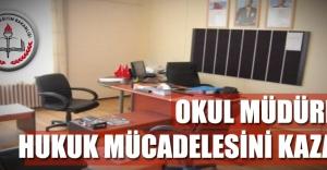 Okul Müdürleri Hukuk Mücadelesini Kazandı
