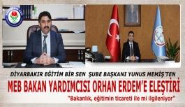 EBS Diyarbakır Şube Başkanı MEMİŞ'ten...