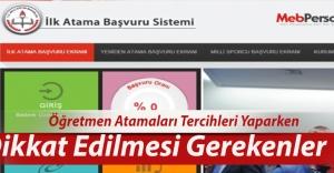 Öğretmen Atamaları...