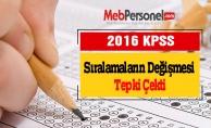 2016 KPSS'de Sıralamaların Değişmesi Tepki Çekti