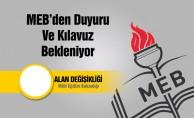 MEB Personeli için Alan Değişikliği Kılavuzu Yayınlanacak Mı?