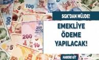 SGK'dan emeklileri sevindirecek haber: Ödenmeye başlandı