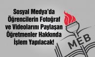 Sosyal Medya#039;da Fotoğraf Paylaşan Öğretmenler Dikkat!