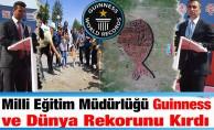 Milli Eğitim Müdürlüğü Guinness ve Dünya Rekorunu Kırdı, Türkiye'mize Gururu Yaşattı