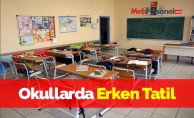 Okullarda Erken Tatil