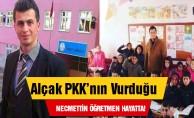 PKK#039;nın vurduğu Necmettin öğretmen hayatta