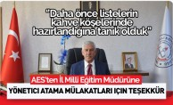 Sendikadan Kayseri İl Milli Eğitim Müdürüne Yönetici Atama Mülakatları İçin Teşekkür