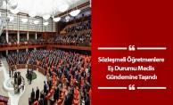 Sözleşmeli Öğretmenlere Eş Durumu Meclis Gündemine Taşındı