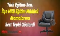 Türk Eğitim-Sen, İlçe Milli Eğitim Müdürü Atamalarına Sert Tepki Gösterdi