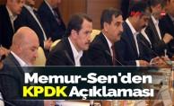 Memur-Sen'den KPDK Açıklaması