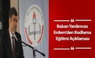 Bakan Yardımcısı Erdem'den Kodlama Eğitimi Açıklaması