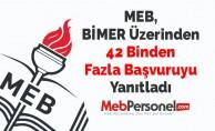 MEB, BİMER Üzerinden 42 Binden Fazla Başvuruyu Yanıtladı