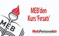 MEBden Kurs 'Fırsatı
