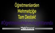 Öğretmenlerden Mehmetçiğe Tam Destek!
