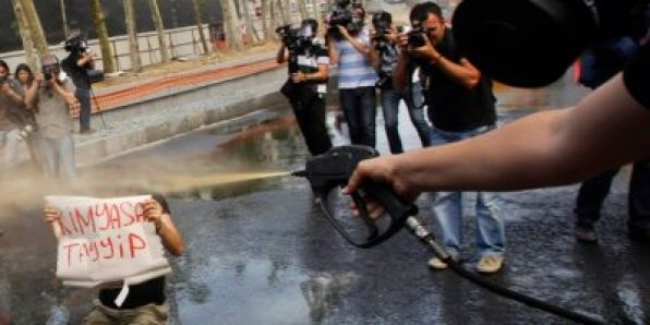 Toplumsal Mücadeleler Tarihi Taksim'de