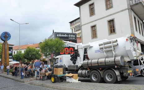 Trabzon Belediyesi olası yağmura karşı tedbir alıyor