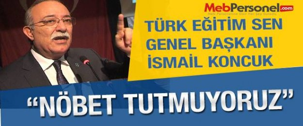 Türk Eğitim Sen Nöbet Eylemi