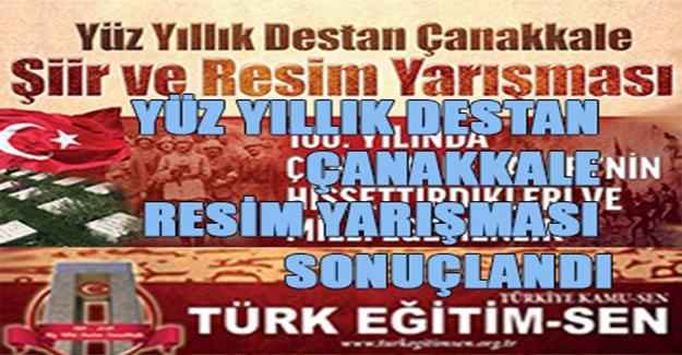 Türk Eğitim Sen'in Düzenlediği Yarışma Sonuçlandı