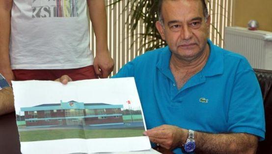 Türkiye Futbol Federasyonu Soma'ya okul yaptıracak