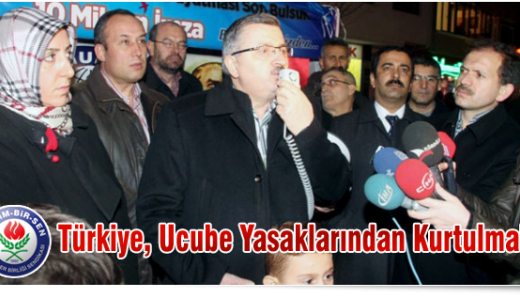 Türkiye, Ucube Yasaklarından Kurtulmalı