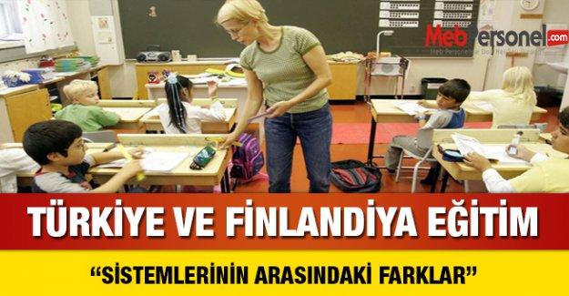 Türkiye ve Finlandiya Eğitim Sistemi Arasındaki Farklar