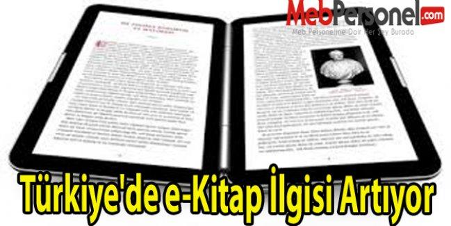 Türkiye'de e-Kitap İlgisi Artıyor