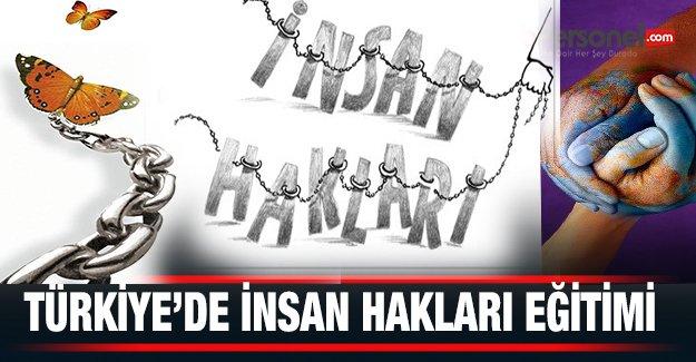 Türkiye'de İnsan Hakları Eğitimi
