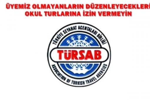TÜRSAB Okul Turu  Yazısı