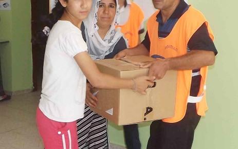 Ufuk Okuma Salonları'ndan ihtiyaç sahibi 750 aileye yardım
