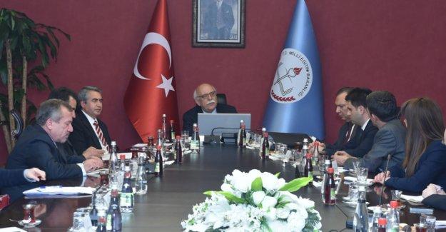 UNESCO Türkiye Millî Komisyonu, Bakan Avcı'ya bilgi sundu