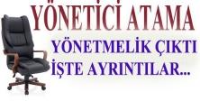 Yönetici Atama Yönetmeliği Resmi Gazetede Yayınlandı