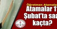 Öğretmen Atama Sonuçları 11 Şubat#039;ta Açıklanacak