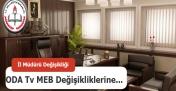 Ankara'nın Yeni İl Müdürü Koltuğa Oturmadan Oda Tv Zıpladı