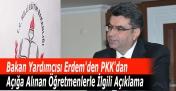 MEB Bakan Yardımcısı'ndan PKK'dan Açığa Alınan Öğretmenlerle İlgili Açıklama