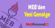 MEB'den Yeni Genelge