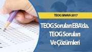 TEOG Soruları EBA'da. TEOG Soruları Ve Çözümleri