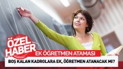 Ek Sözleşmeli Öğretmen Ataması...