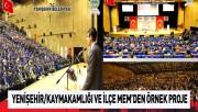Diyarbakır/Yenişehir Kaymakamlığı ve Yenişehir İlçe Milli Eğitim Müdürlüğünden Örnek Proje