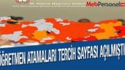 MEB, Öğretmen Atamaları İlkatama Ekranı Açıldı