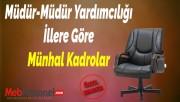Müdür-Müdür Yardımcılığı İllere Göre Münhal Kadrolar - MEB 2018
