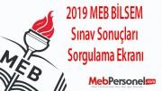 2019 MEB BİLSEM Sınav Sonuçları Sorgulama Ekranı