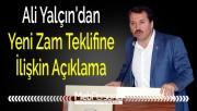 Ali Yalçın'dan Yeni Zam Teklifine İlişkin Açıklama