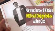 Mahmut Tuncer'li Kitabın MEB'e Ait Olduğu İddiası Asılsız Çıktı