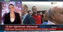 Aydoğdu, NTV Canlı Yayınında Atamalarla İlgili Soruları Yanıtladı - VİDEO