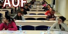 AÖF'de Öğretmenlere Yeni Sınav Görevi